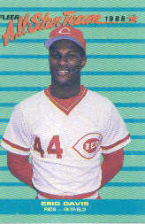 1988 Fleer All-Stars Baseball Cards    007      Eric Davis