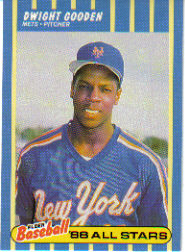 1988 Fleer Baseball All-Stars Baseball Cards   012      Dwight Gooden