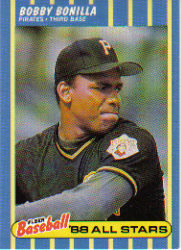 1988 Fleer Baseball All-Stars Baseball Cards   003      Bobby Bonilla