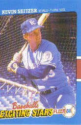1988 Fleer Exciting Stars Baseball Cards       036      Kevin Seitzer