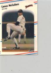 1988 Fleer Mini Baseball Cards 114     Lance McCullers
