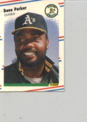 1988 Fleer Mini Baseball Cards 047      Dave Parker