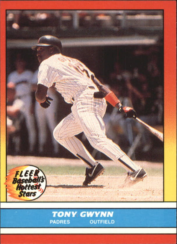 1988 Fleer Hottest Stars Baseball Cards        015      Tony Gwynn