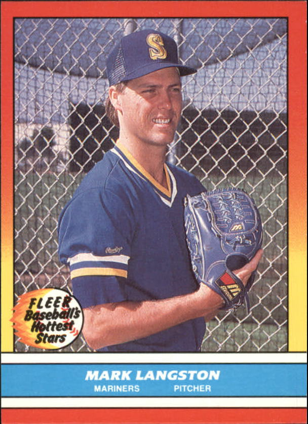1988 Fleer Hottest Stars Baseball Cards        023      Mark Langston