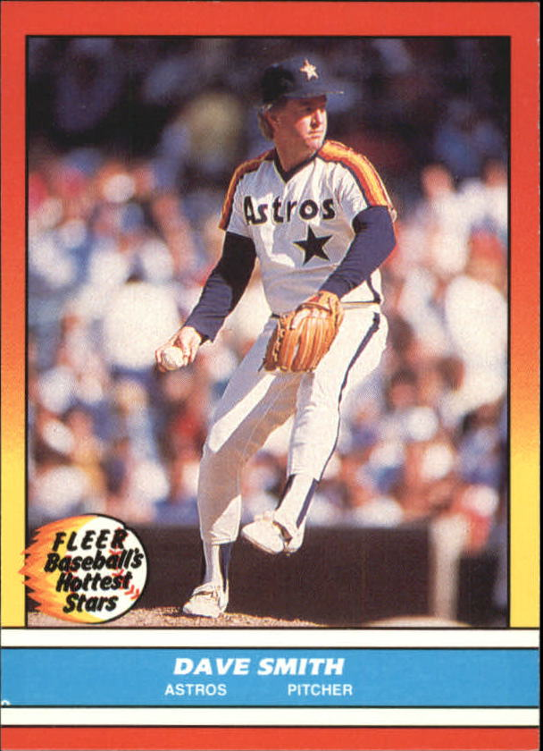 1988 Fleer Hottest Stars Baseball Cards        039      Dave Smith