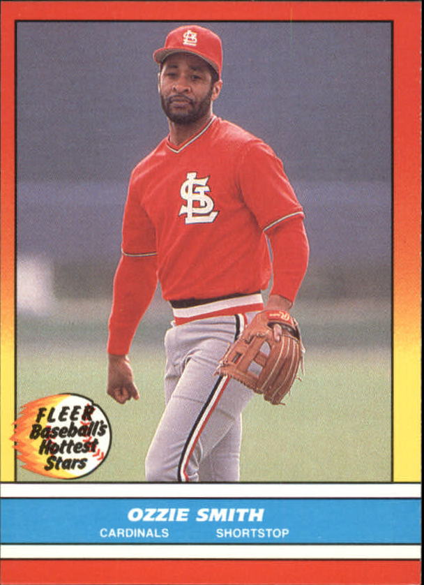 1988 Fleer Hottest Stars Baseball Cards        040      Ozzie Smith