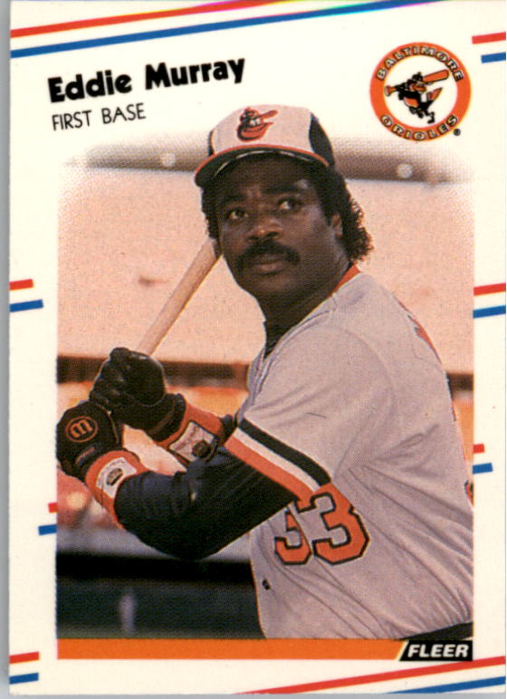 1988 Fleer Mini Baseball Cards 001      Eddie Murray