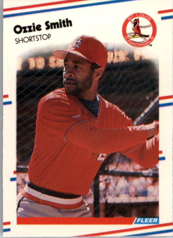 1988 Fleer Mini Baseball Cards 109     Ozzie Smith
