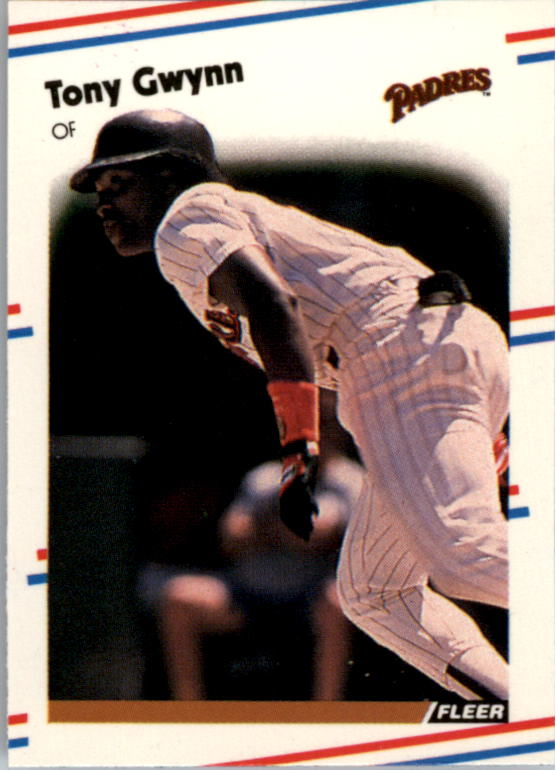1988 Fleer Mini Baseball Cards 112     Tony Gwynn