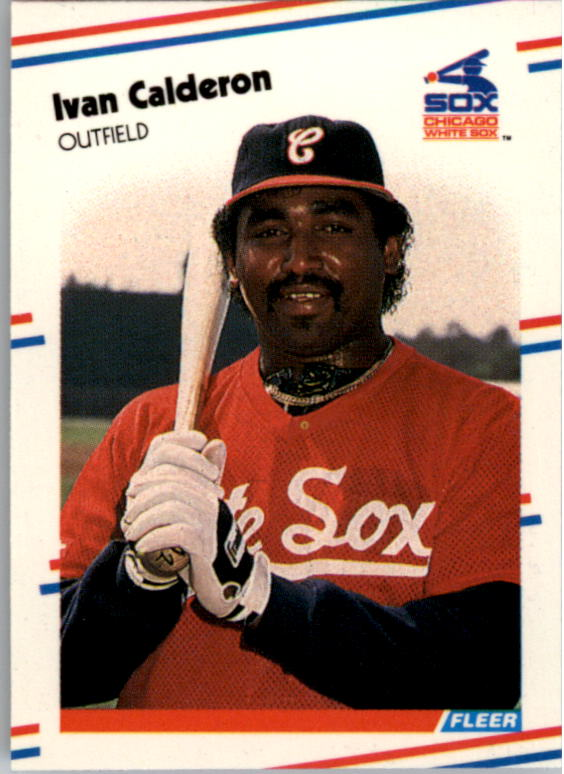 1988 Fleer Mini Baseball Cards 014      Ivan Calderon