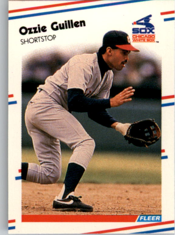 1988 Fleer Mini Baseball Cards 015      Ozzie Guillen