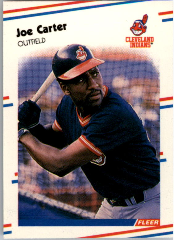 1988 Fleer Mini Baseball Cards 018      Joe Carter