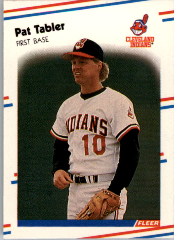 1988 Fleer Mini Baseball Cards 020      Pat Tabler