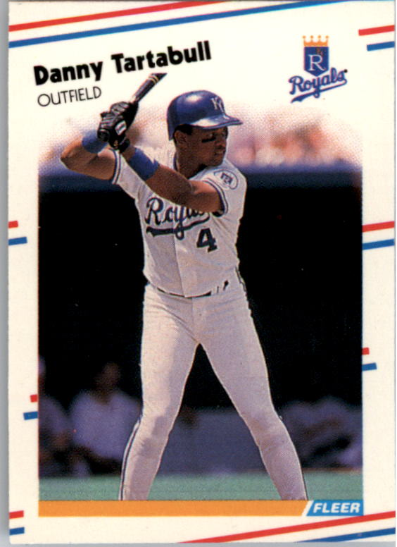 1988 Fleer Mini Baseball Cards 028      Danny Tartabull