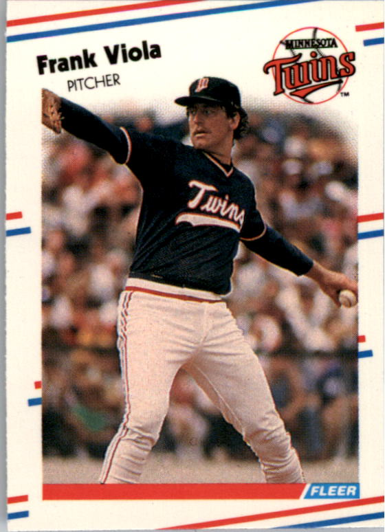 1988 Fleer Mini Baseball Cards 038      Frank Viola