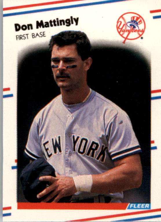 1988 Fleer Mini Baseball Cards 041      Don Mattingly