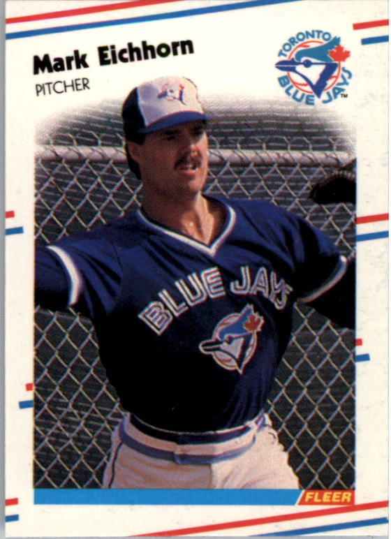 1988 Fleer Mini Baseball Cards 060      Mark Eichhorn