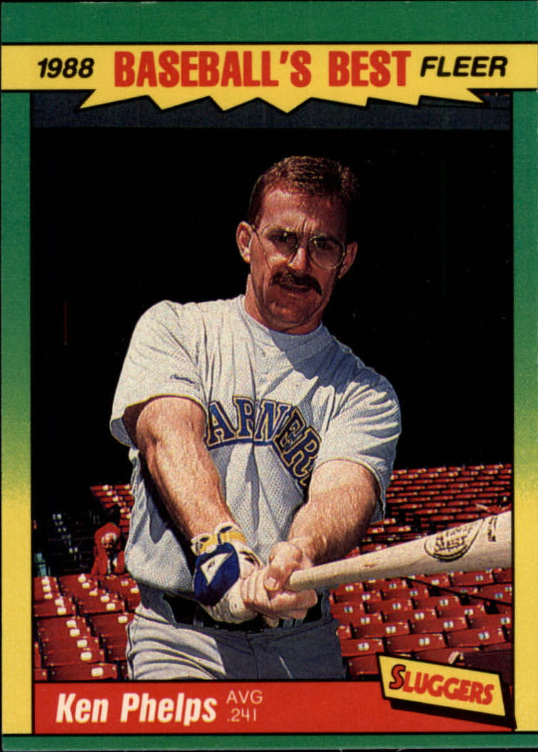 1988 Fleer Sluggers/Pitchers Baseball Cards    029      Ken Phelps