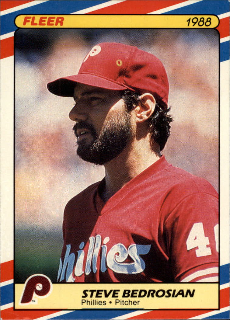 1988 Fleer Superstars Baseball Cards   001      Steve Bedrosian
