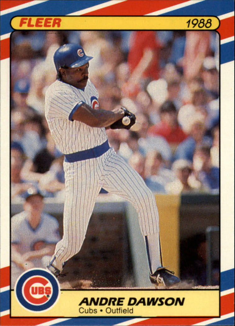 1988 Fleer Superstars Baseball Cards   013      Andre Dawson