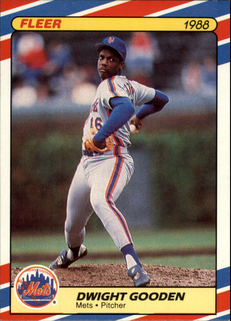 1988 Fleer Superstars Baseball Cards   014      Dwight Gooden