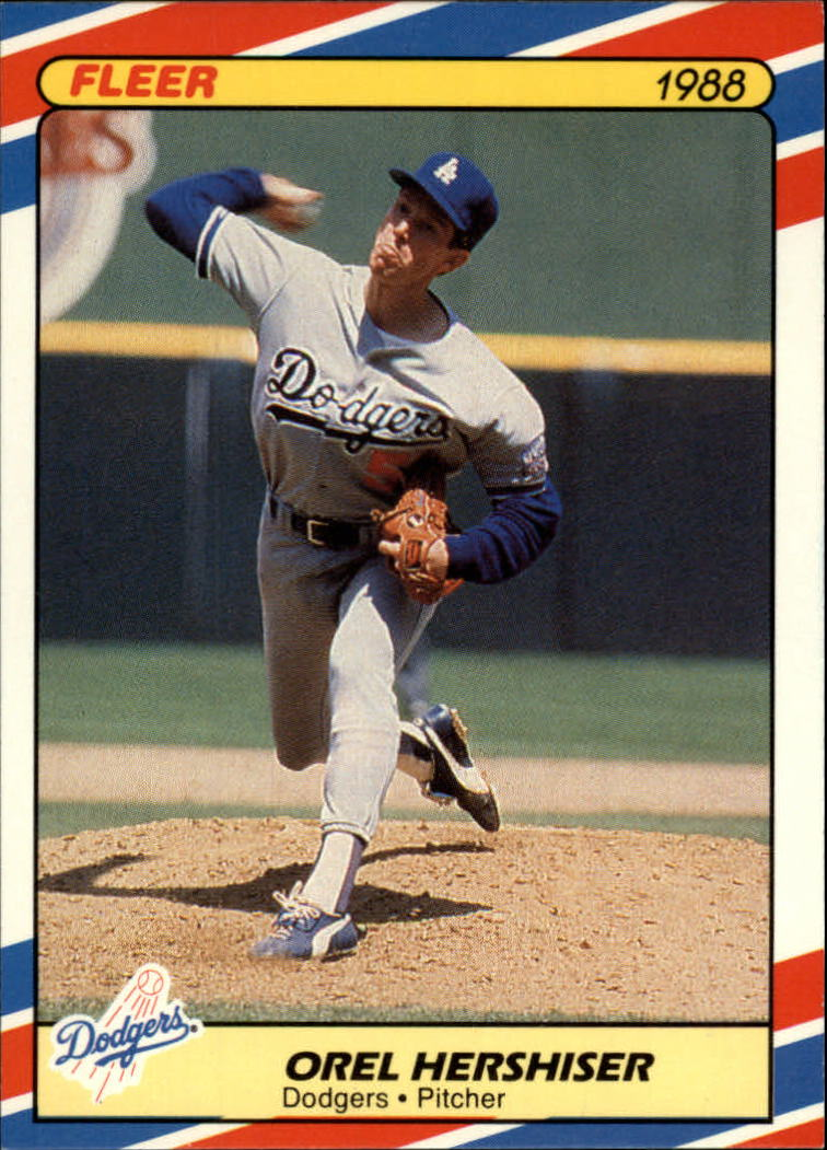 1988 Fleer Superstars Baseball Cards   015      Orel Hershiser
