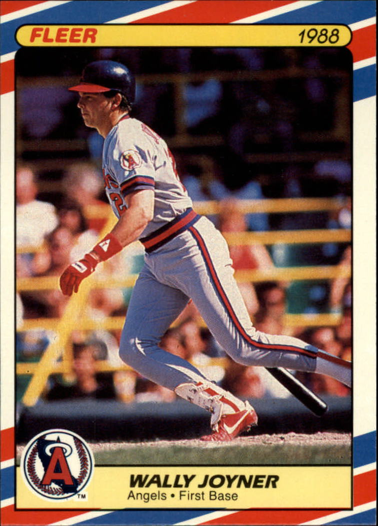 1988 Fleer Superstars Baseball Cards   018      Wally Joyner