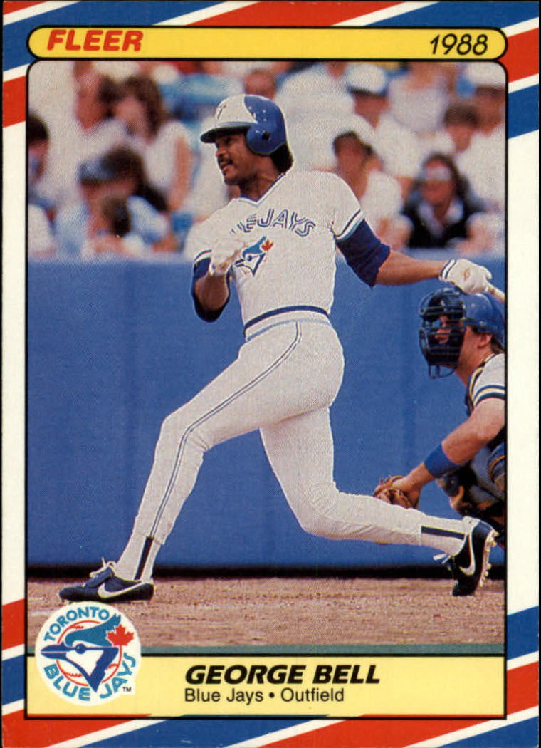 1988 Fleer Superstars Baseball Cards   002      George Bell