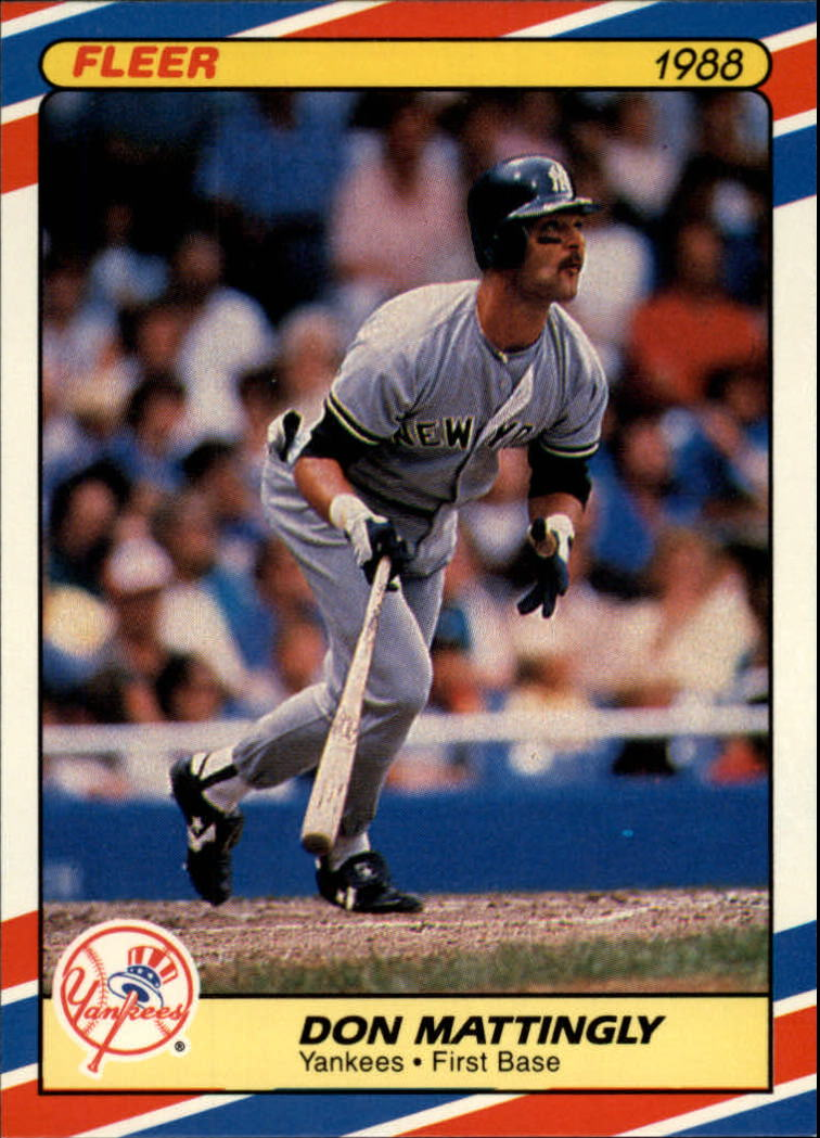 1988 Fleer Superstars Baseball Cards   022      Don Mattingly