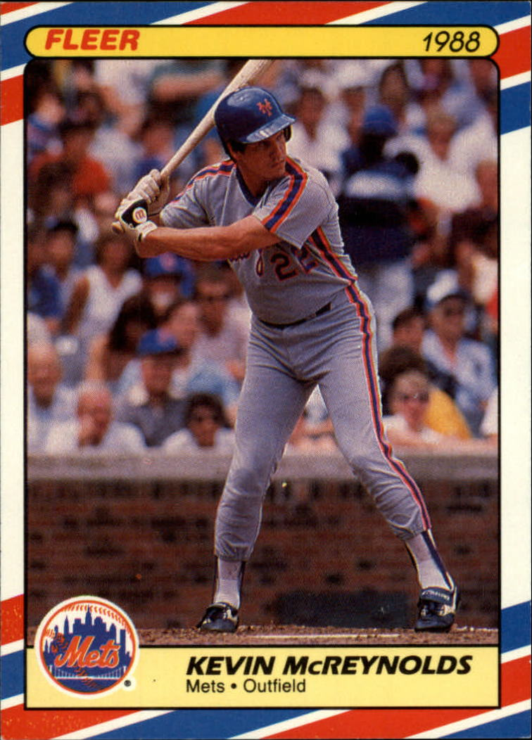 1988 Fleer Superstars Baseball Cards   024      Kevin McReynolds