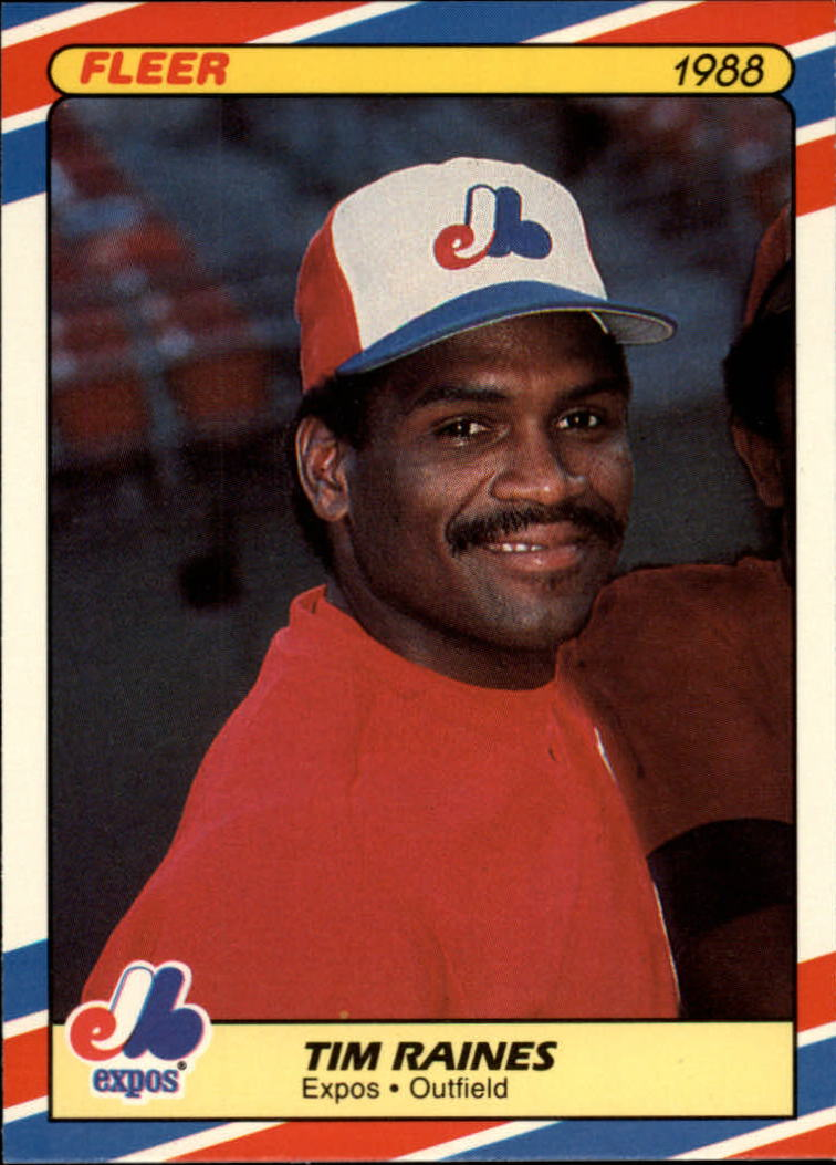 1988 Fleer Superstars Baseball Cards   029      Tim Raines