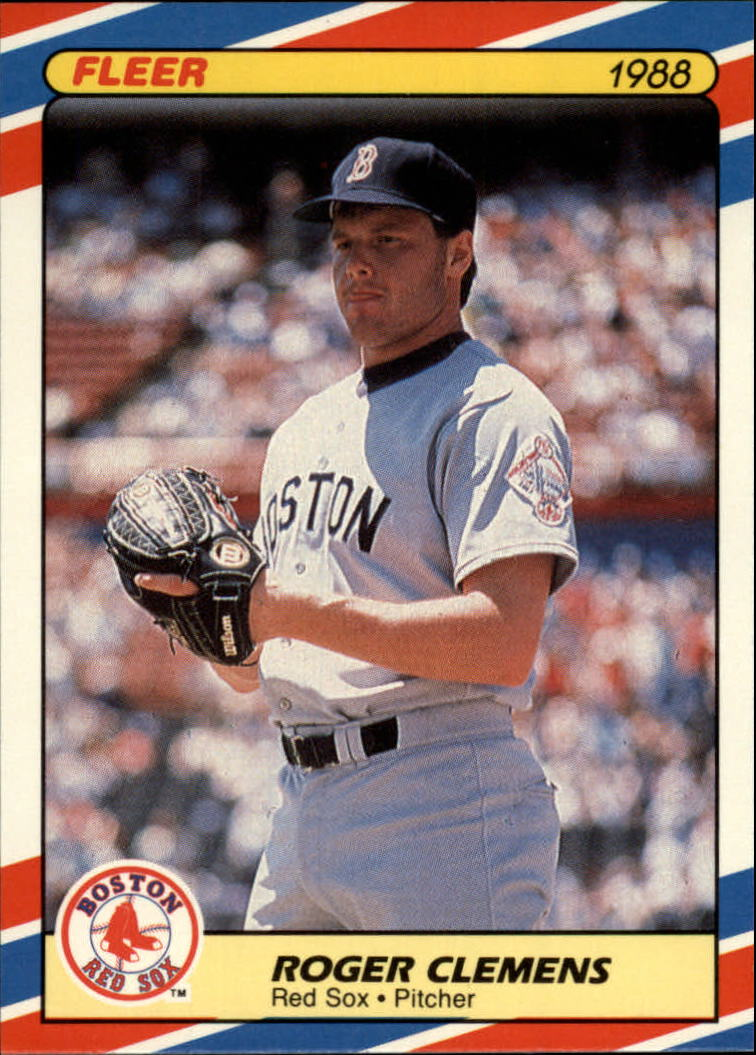 1988 Fleer Superstars Baseball Cards   009      Roger Clemens