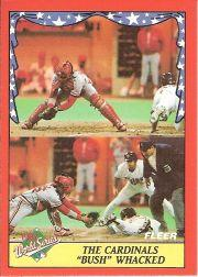 1988 Fleer World Series Baseball Cards 002      Randy Bush