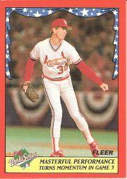 1988 Fleer World Series Baseball Cards 003      John Tudor
