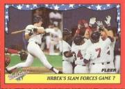 1988 Fleer World Series Baseball Cards 009      Kent Hrbek