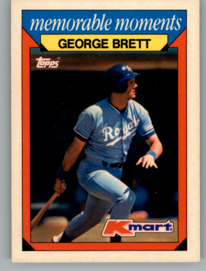 1988 K-Mart Baseball Cards     003      George Brett