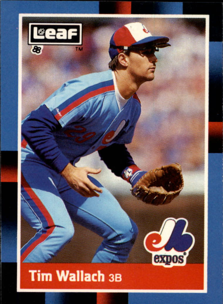 1988 Leaf/Donruss Baseball Cards       193     Tim Wallach