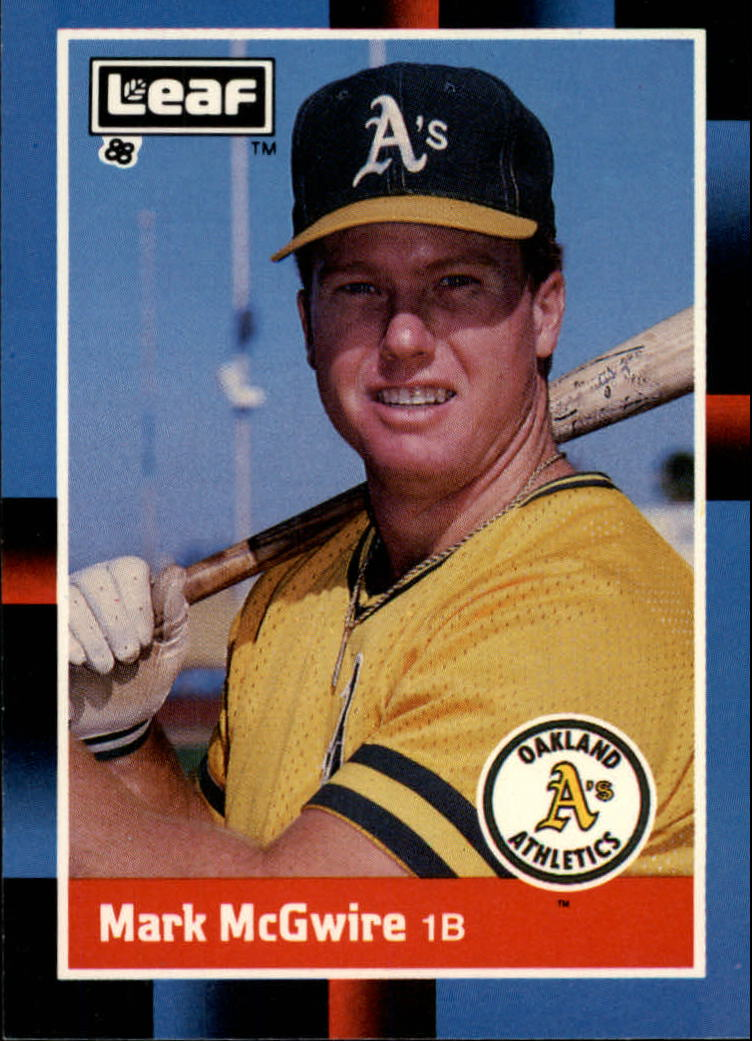1988 Leaf/Donruss Baseball Cards       194     Mark McGwire