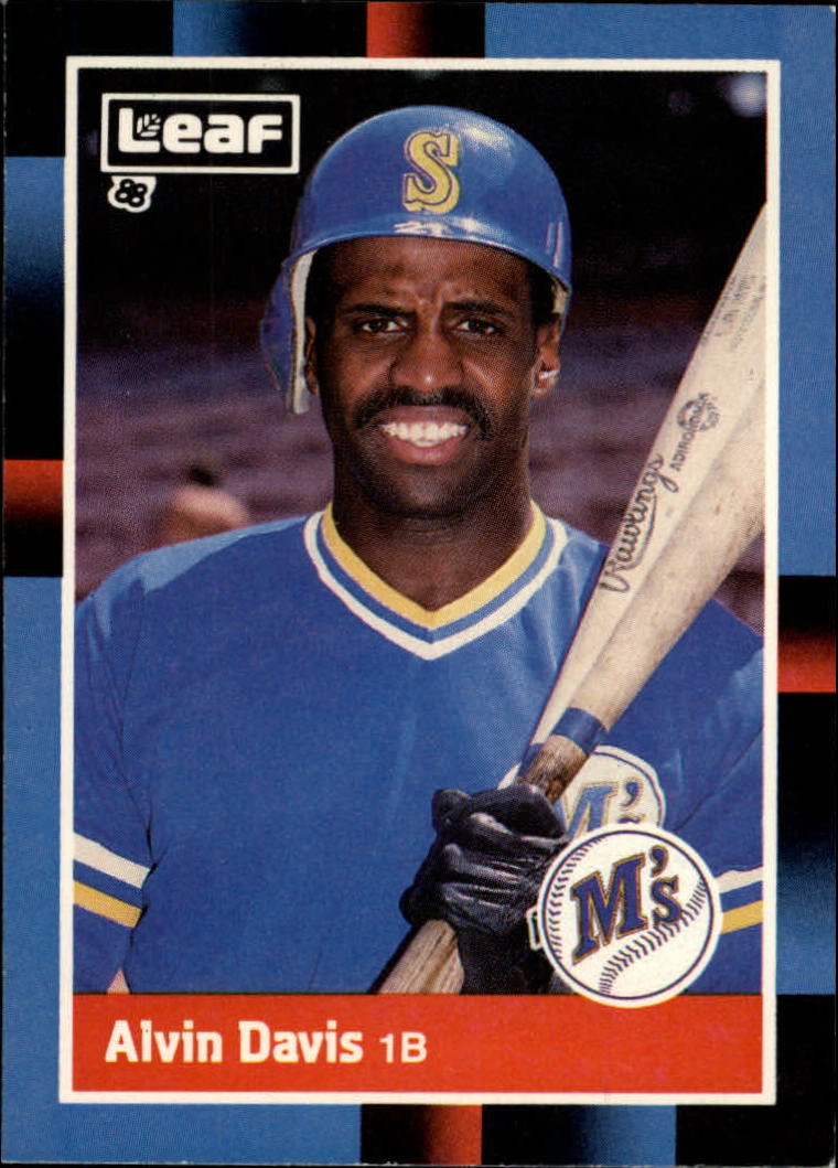 1988 Leaf/Donruss Baseball Cards       196     Alvin Davis