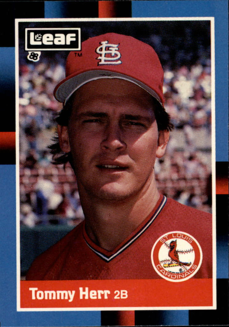 1988 Leaf/Donruss Baseball Cards       201     Tommy Herr