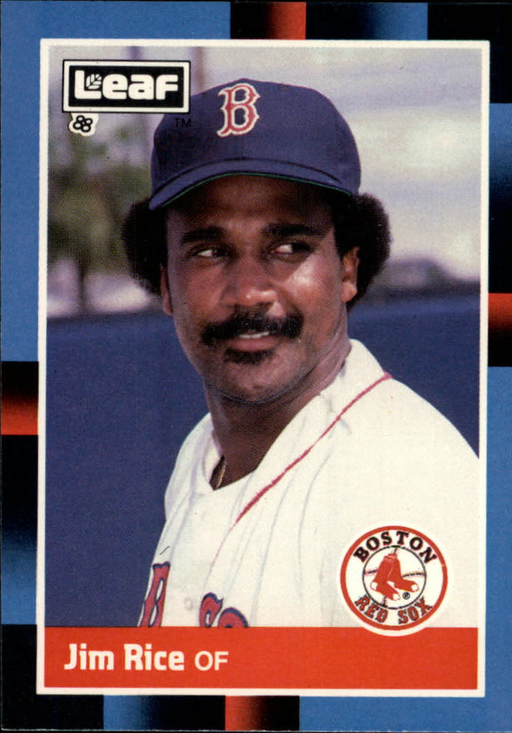 1988 Leaf/Donruss Baseball Cards       215     Jim Rice
