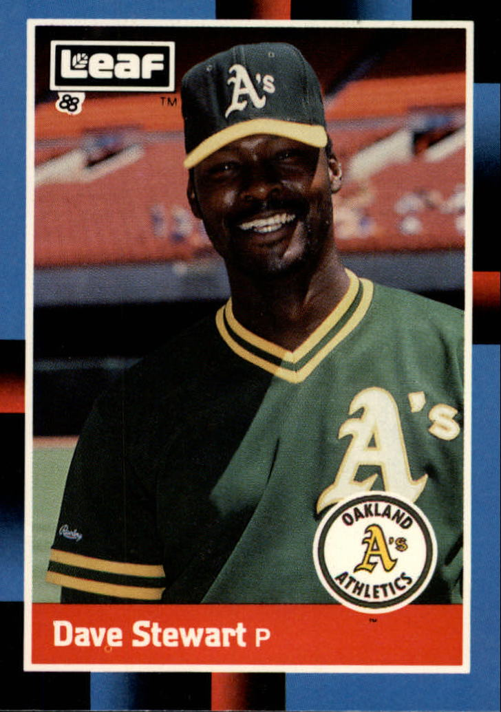 1988 Leaf/Donruss Baseball Cards       217     Dave Stewart
