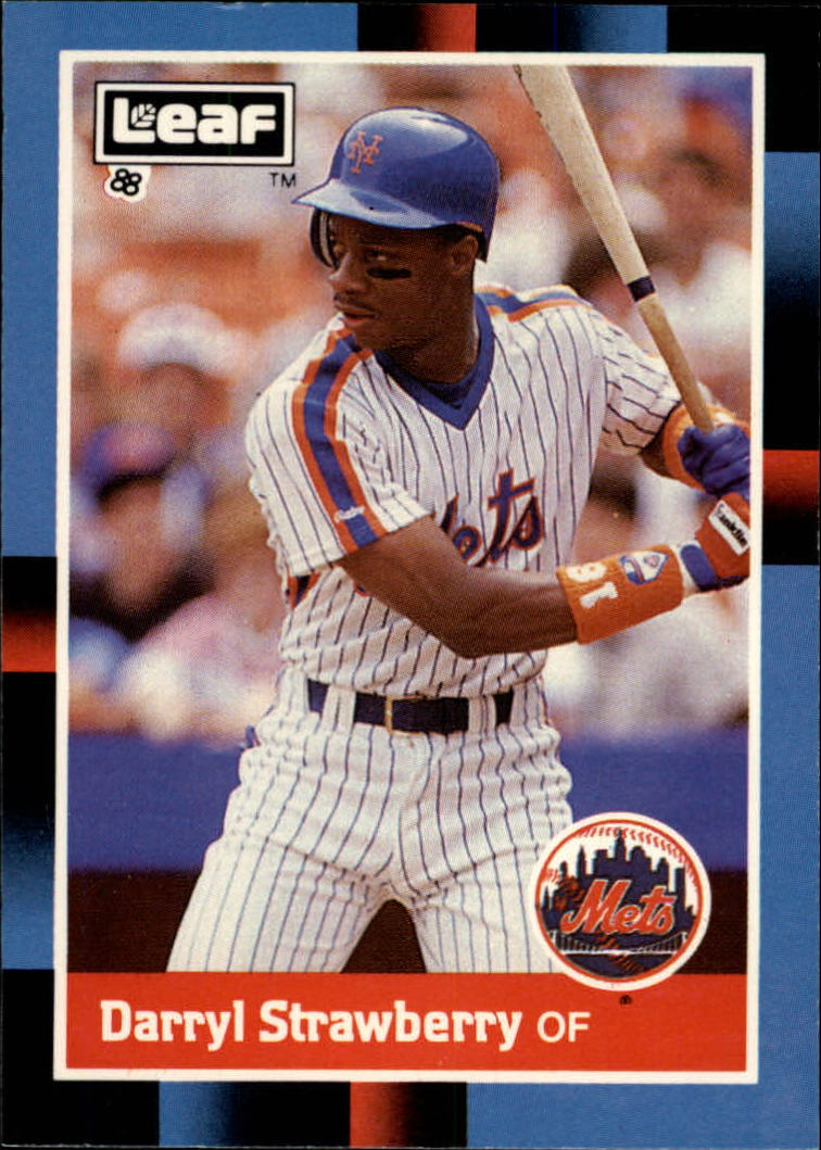 1988 Leaf/Donruss Baseball Cards       220     Darryl Strawberry