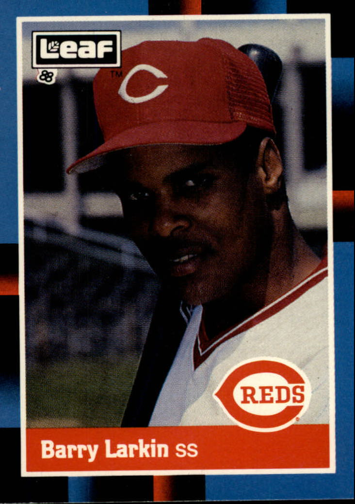 1988 Leaf/Donruss Baseball Cards       226     Barry Larkin
