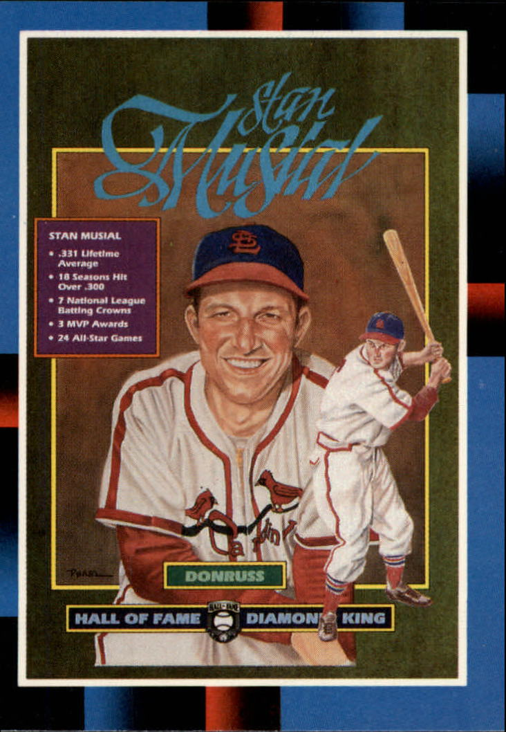 1988 Leaf/Donruss Baseball Cards       263     Stan Musial#{Puzzle Card