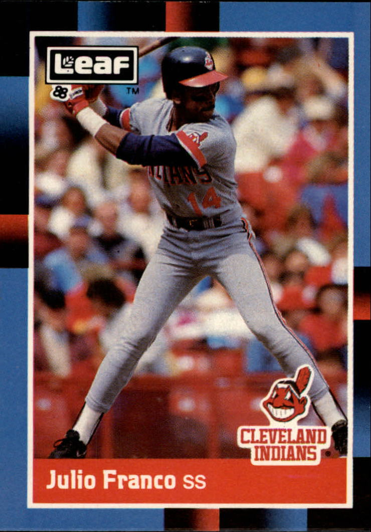 1988 Leaf/Donruss Baseball Cards       071      Julio Franco