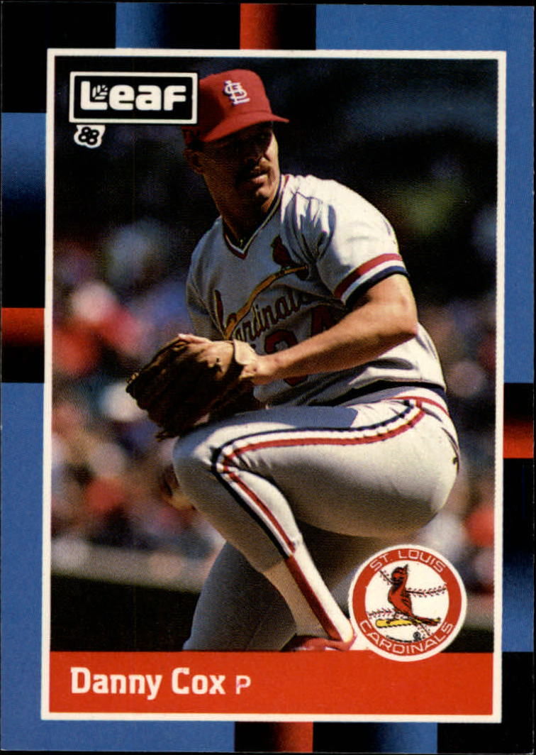 1988 Leaf/Donruss Baseball Cards       072      Danny Cox