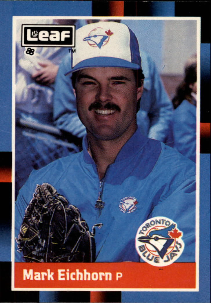 1988 Leaf/Donruss Baseball Cards       074      Mark Eichhorn