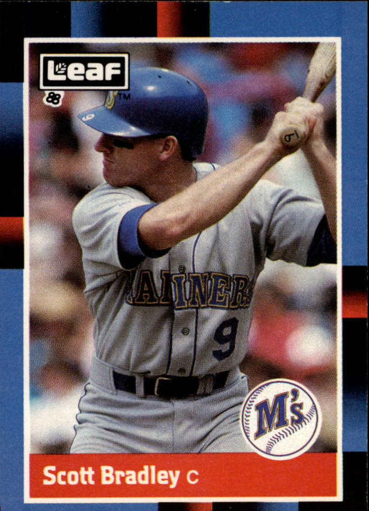 1988 Leaf/Donruss Baseball Cards       075      Scott Bradley