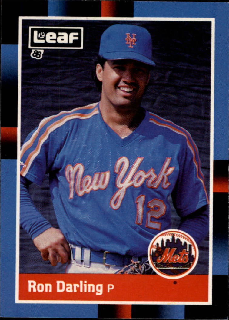 1988 Leaf/Donruss Baseball Cards       078      Ron Darling